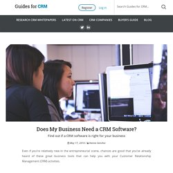Does My Business Need a CRM Software?
