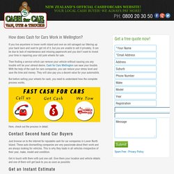 How does Cash for Cars Work in Wellington? - Cash For Cars - Car Wreckers