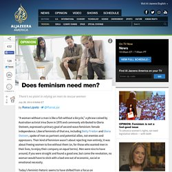 Does feminism need men?