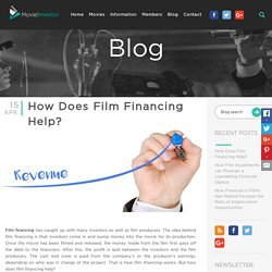 How Does Film Financing Help?