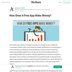 How Does A Free App Make Money? – AppAspect