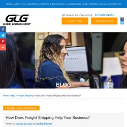 How Does Freight Shipping Help Your Business?