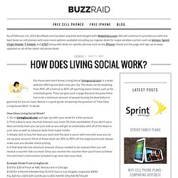 How Does Living Social Work? - Buzzraid