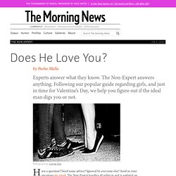 Does He Love You?