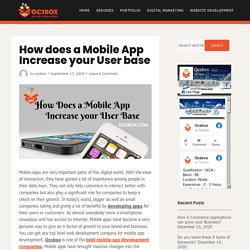 How does a Mobile App Increase your User base