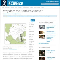 Why does the North Pole move?""