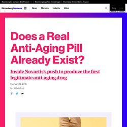 Does a Real Anti-Aging Pill Already Exist?