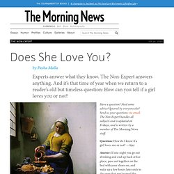 Does She Love You?