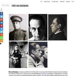 Theo van Doesburg ; Biographie & oeuvres