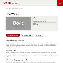 Dog Walker - Do-It - Be More