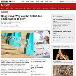 Doggy bag: Why are the British too embarrassed to ask?