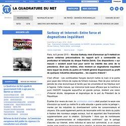 Sarkozy et Internet: Entre farce et dogmatisme inquiétant