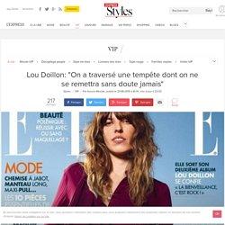 """Lou Doillon: """"On a traversé une tempête dont on ne se remettra sans doute jamais"""" - L'Express Styles"""