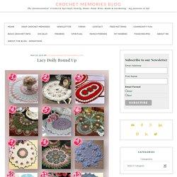 Lacy Doily Round Up - Crochet Doily Patterns