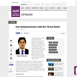 Iran doing business with the 'Great Satan' - Al Arabiya News