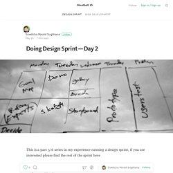 Doing Design Sprint — Day 2 — Meatball IO