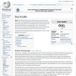 Dojo Toolkit