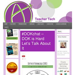 #DOKchat – DOK is Hard Let's Talk About It