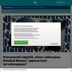 """Dokumentti näyttää, miten valheeseen litteästä Maasta """"uppoaa kuin tervakuoppaan"""" - Nyt.fi"""
