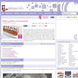 » Dolce gelato con savoiardi - Ricetta Dolce gelato con savoiardi di Misya