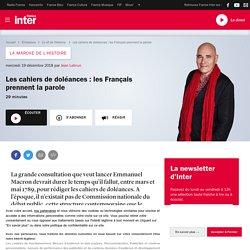 Les cahiers de doléances : les Français prennent la parole