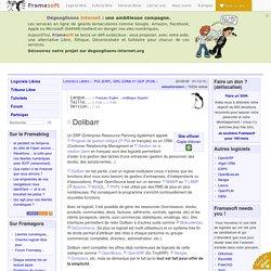Dolibarr - PGI (ERP), GRC (CRM) et GCP (PLM)
