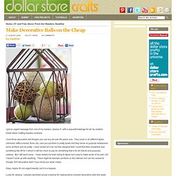 Cheap Decorative Balls