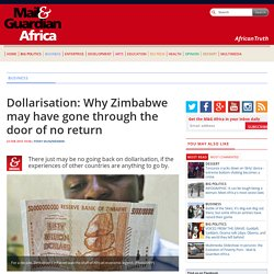 Dollarisation: Why Zimbabwe may have gone through the door of no return