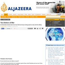Tax Dollars at War - Al Jazeera Frames