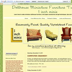 Dollhouse Miniature Furniture - Tutorials