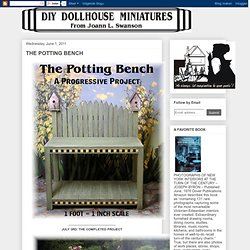 Potting Bench Vignette