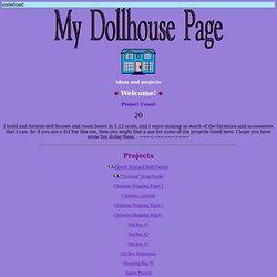 My Dollhouse Page - Free Dollhouse Printables