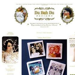 Art Dolls by Du Buh Du Designs - Gift Idea: Photo Coasters