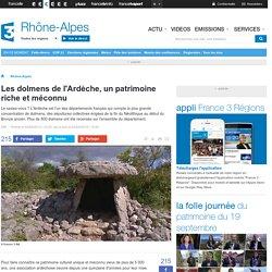 Les dolmens de l'Ardèche, un patrimoine riche et méconnu - France 3 Rhône-Alpes