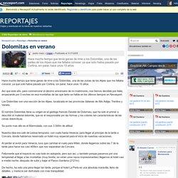 Dolomitas en verano - Reportajes - Nevasport.com