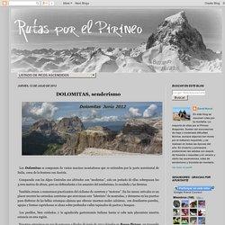 DOLOMITAS, senderismo - Rutas por el Pirineo