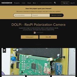DOLPi - RasPi Polarization Camera