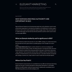 Why Domain and Page Authority Are Important in SEO