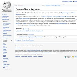 Domain-Name-Registrar