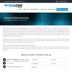 Domain Registration, Domain Name, Online Domain Registration