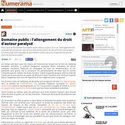 Domaine public : l'allongement du droit d'auteur paralysé - Numerama
