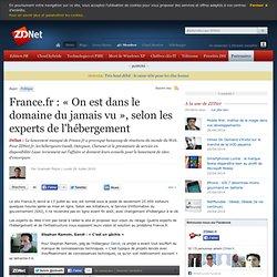 France.fr : « On est dans le domaine du jamais vu », selon les experts de l'hébergement
