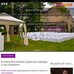 Domaine Mariage en Seine et Marne : louez, dans le 77, un domaine magnifique pour votre mariage.