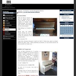 Domaine Musical de Pétignac - Piano Gérard Fauvin > Le coin des bonnes affaires - Bonnes affaires Piano au domaine musical de Pétignac