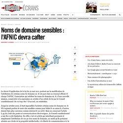 Noms de domaine sensibles : l'AFNIC devra cafter