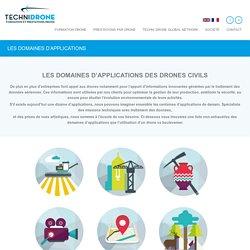 LES DOMAINES D'APPLICATIONS - TECHNI DRONE