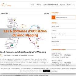 Les 6 domaines d'utilisation du Mind Mapping - Concepts Visuels