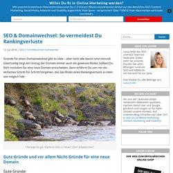 Domainumzug & SEO: So behältst Du Deine Google-Rankings