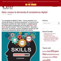 Italia: cresce la domanda di competenze digitali - GM Servizi