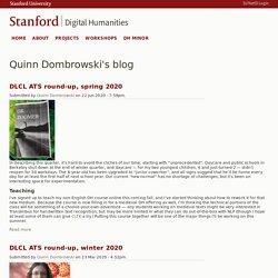 Digital Humanities at Stanford